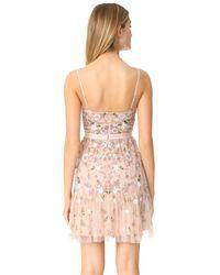 Needle & Thread Pink Blossom Tulle Dress