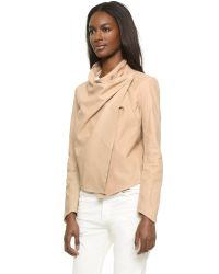 Lamarque - Natural Madison Leather Jacket - Lyst