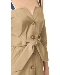 Opening Ceremony - Natural Inside Out Trench Dress - Lyst