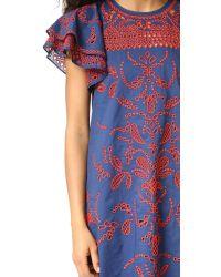 Parker   Blue Simone Dress   Lyst