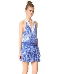 Poupette - Blue Beline Dress - Lyst