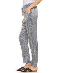 Paloma Blue - Gray Venice Pants - Lyst