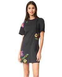 3.1 Phillip Lim Multicolor Floral Embroidered Dress