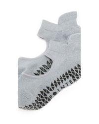 Pointe Studio | Gray Josie Athletic Grip Studio Socks | Lyst