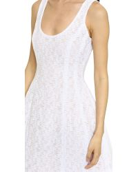 Prabal Gurung - White Fil Coupe Cotton Dress - Lyst