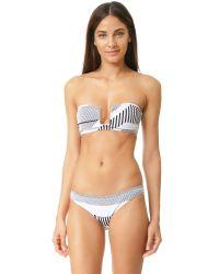 Prism - White Santa Margarita Bikini Top - Lyst