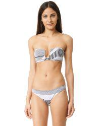 Prism - White Punta Bikini Bottoms - Lyst