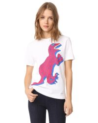 Paul Smith - White Dino Print Tee - Lyst