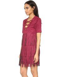 Raga - Red Wild West Dress - Lyst