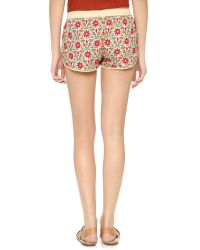 Raga - Multicolor Flower Garden Shorts - Lyst