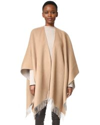 Rag & Bone | Brown Double Sided Poncho | Lyst