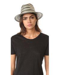Rag & Bone | Black Panama Hat | Lyst