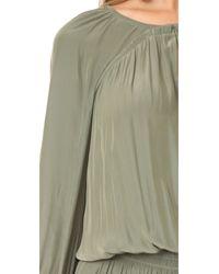 Ramy Brook Green Olivia Dress