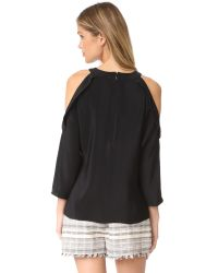 Ramy Brook Black Vivica Blouse