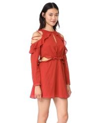Red Carter | Red Rhiannon Dress | Lyst