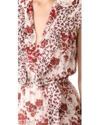 Robert Rodriguez - Multicolor Long Tiered Sleeveless Dress - Lyst
