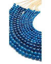 Rosantica   Blue Raissa Necklace   Lyst