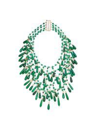 Rosantica - Green Pascoli Necklace - Lyst