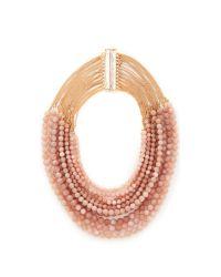 Rosantica - Pink Raissa Necklace - Lyst