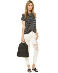 R13 - White The Relaxed Skinny Jeans - Lyst