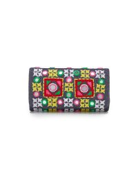 Santi - Multicolor Embroidered Clutch - Lyst