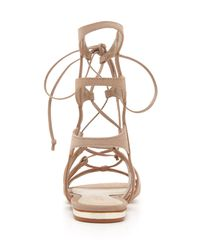 Schutz Natural Erlina Gladiator Sandals