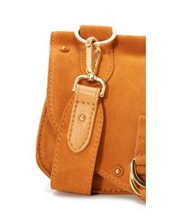 See By Chloé - Yellow Collins Mini Saddle Bag - Lyst