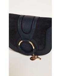 See By Chloé Multicolor Hana Small Saddle Bag