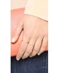 Shashi - Metallic Penelope Ring - Lyst