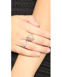 SHAY - Pink Starburst Ring - Lyst