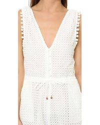 6 Shore Road By Pooja - White Nomad Romper - Lyst