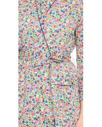 Sleepy Jones Multicolor Liberty Sunshine Floral Isa Robe