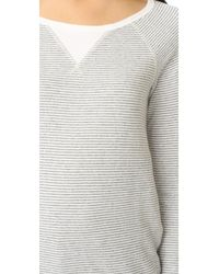 Soft Joie Gray Annora F Top