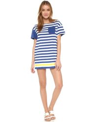 Solid & Striped - Blue The Tee Dress - Lyst