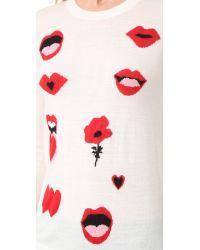 Sonia by Sonia Rykiel - Black Lips Sweater - Lyst