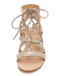 Splendid - Metallic Cameron Gladiator Sandals - Lyst