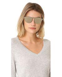 Retrosuperfuture - Metallic Tuttolente Palma Sunglasses - Lyst