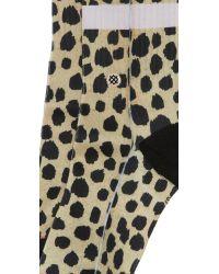 Stance - Multicolor Feline Classic Socks - Lyst