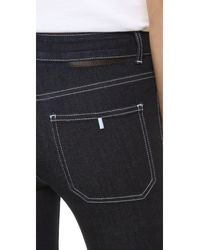 Stella McCartney - Blue 70 Flare Jeans With Patch Pockets - Lyst