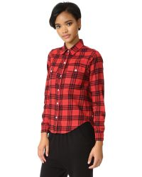 Sundry - Multicolor Double Pocket Shirt - Lyst