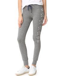 Sundry | Gray Stars Skinny Sweatpants | Lyst