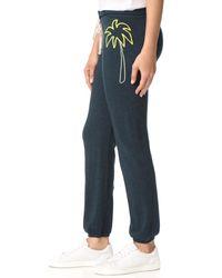 Sundry Black Palm Sweatpants
