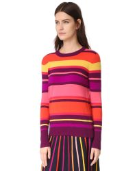 Temperley London Pink Frost Cashmere Sweater