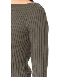 Theory - Multicolor Sandora Long Sleeve Knit - Lyst