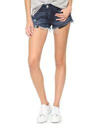 3x1 - Multicolor Cutoff Shorts - Lyst