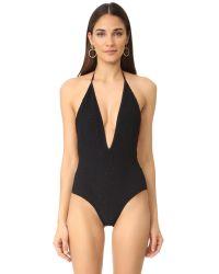 Tori Praver Swimwear | Black Kelly One Piece Swimsuit | Lyst