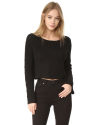 ThePerfext | Black Cashmere Cable Sweater | Lyst