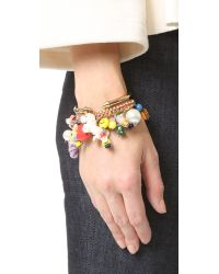 Venessa Arizaga - Multicolor Fantasy Land Bracelet - Lyst