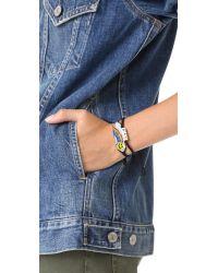 Venessa Arizaga - Multicolor Rainbow Smiley Bracelet - Lyst