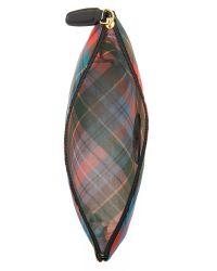 Vivienne Westwood - Multicolor Plaid Pouch - Lyst